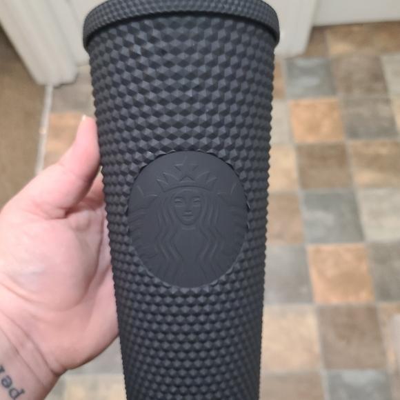 Black starbucks studded cup